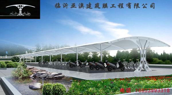 膜结构车棚,我们最专业(汽车棚、自行车棚)