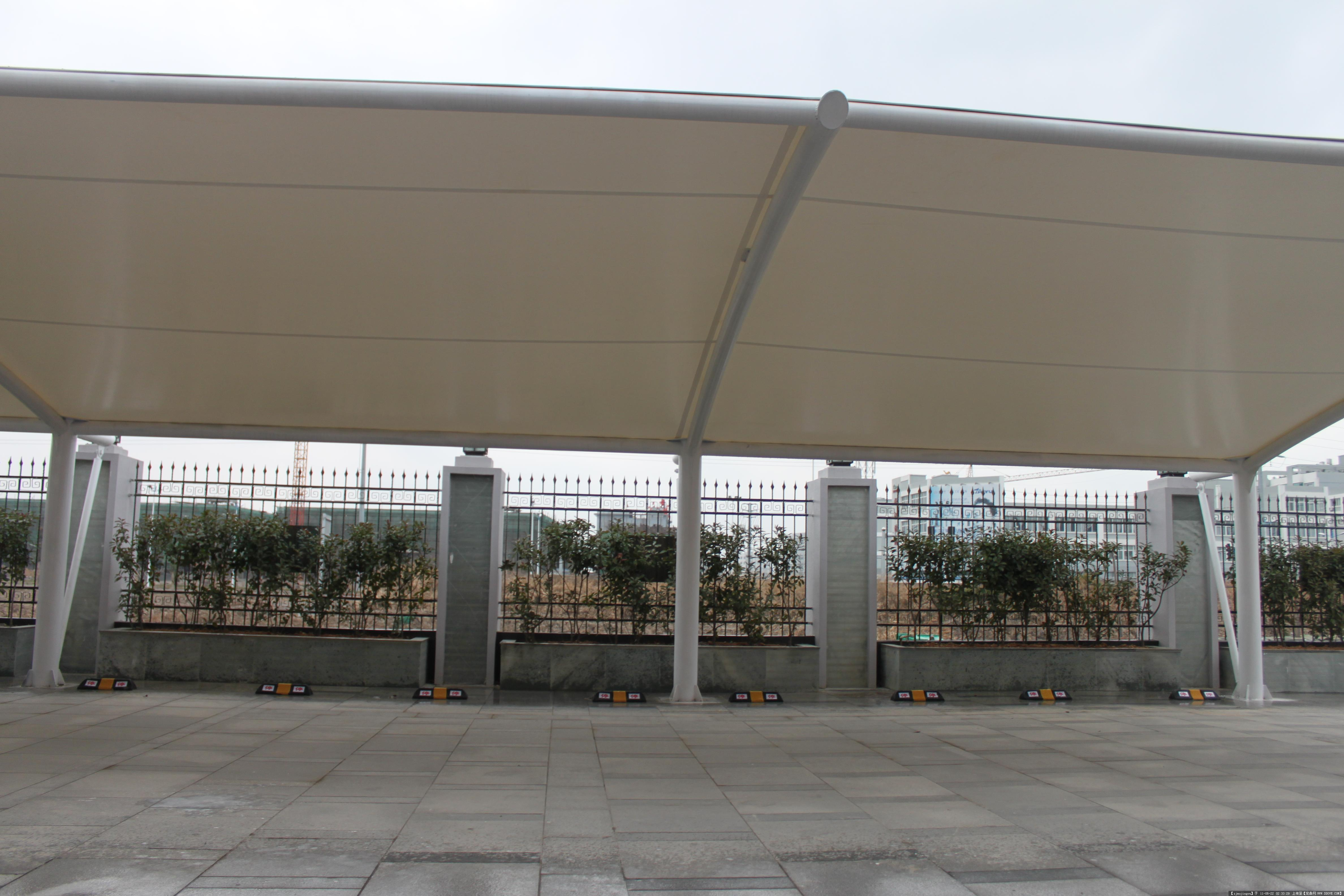 膜结构停车棚(车棚膜)